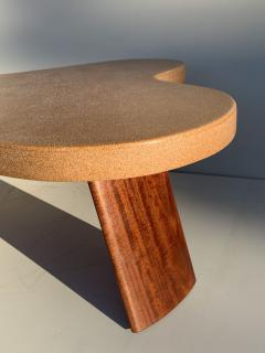 Paul Frankl Cloud Cork and Mahogany Coffee Table - 1161113