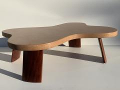 Paul Frankl Cloud Cork and Mahogany Coffee Table - 1161114