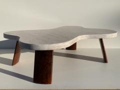 Paul Frankl Cloud Cork and Walnut Coffee Table - 1161176