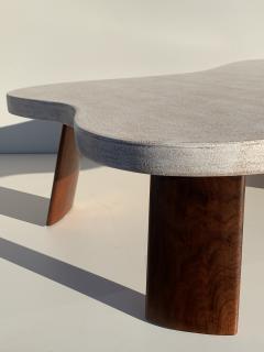 Paul Frankl Cloud Cork and Walnut Coffee Table - 1161200
