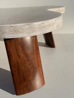 Paul Frankl Cloud Cork and Walnut Coffee Table - 1161212