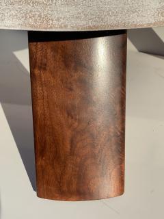 Paul Frankl Cloud Cork and Walnut Coffee Table - 1161219