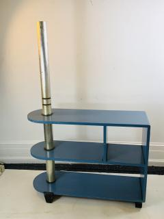 Paul Frankl MODERNIST ART DECO TRIPLE TIER SHELVES TABLE - 1163821
