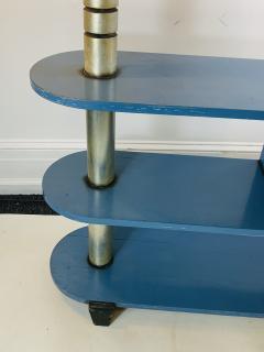 Paul Frankl MODERNIST ART DECO TRIPLE TIER SHELVES TABLE - 1163822