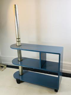 Paul Frankl MODERNIST ART DECO TRIPLE TIER SHELVES TABLE - 1163823