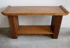 Paul Frankl Oak Console or Sofa Table by Paul Frankl for Brown Saltman - 1060561