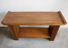 Paul Frankl Oak Console or Sofa Table by Paul Frankl for Brown Saltman - 1060562