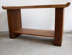 Paul Frankl Oak Console or Sofa Table by Paul Frankl for Brown Saltman - 1060564