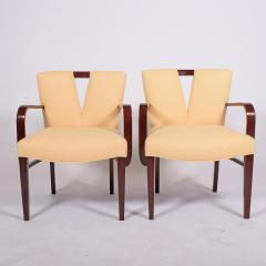Paul Frankl Pair Arm Chairs by Paul Frankl for Johnson Furniture - 1043622