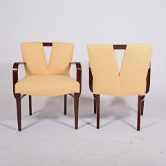 Paul Frankl Pair Arm Chairs by Paul Frankl for Johnson Furniture - 1043623