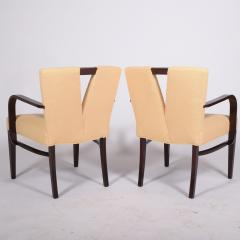 Paul Frankl Pair Arm Chairs by Paul Frankl for Johnson Furniture - 1043624