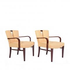 Paul Frankl Pair Arm Chairs by Paul Frankl for Johnson Furniture - 1043627