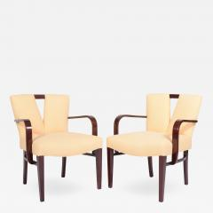 Paul Frankl Pair Arm Chairs by Paul Frankl for Johnson Furniture - 1045484