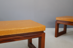 Paul Frankl Pair of Paul Frankl Cork Coffee Table 1950s - 1205767
