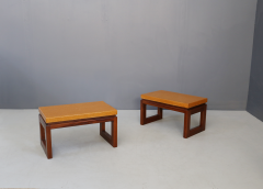 Paul Frankl Pair of Paul Frankl Cork Coffee Table 1950s - 1205768