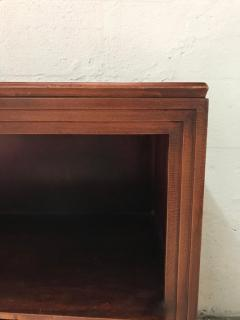 Paul Frankl Pair of Paul Frankl Petite Mahogany Bookcases for Johnson Furniture Co  - 1485490