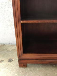 Paul Frankl Pair of Paul Frankl Petite Mahogany Bookcases for Johnson Furniture Co  - 1485493