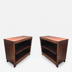 Paul Frankl Pair of Paul Frankl Petite Mahogany Bookcases for Johnson Furniture Co  - 1486470