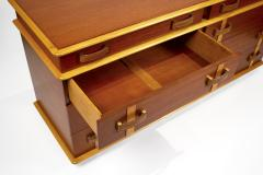 Paul Frankl Paul Frankl Dresser Mirror Station Wagon Series in Mahogany Maple Leather - 1664183