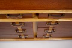 Paul Frankl Paul Frankl Dresser Mirror Station Wagon Series in Mahogany Maple Leather - 1664185