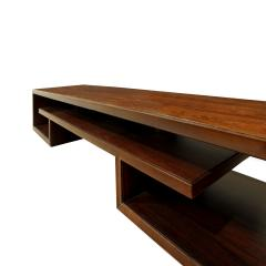 Paul Frankl Paul Frankl Pair Of Matched Low Coffee Tables In Brazilian Rosewood 1940s - 1055098