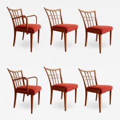 Paul Frankl Paul Frankl Set of Six Dining Room Chairs - 1059406