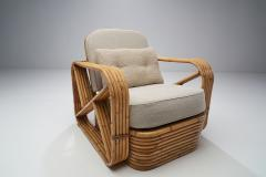 Paul Frankl Rattan Lounge Chair by Paul Frankl United States 1940s - 1611621