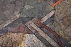Paul Kingma Trio of Kingma Kneip Bronze and Slate Tables Netherlands 1960s - 1015317