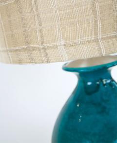Paul L szl Custom Blue Glazed Table Lamp by Paul Laszlo - 181858