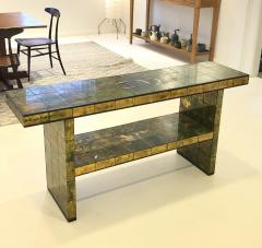 Paul L szl Custom Paul Laszlo Verre glomis Console Table - 1792675