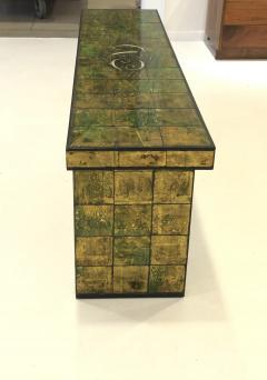 Paul L szl Custom Paul Laszlo Verre glomis Console Table - 1792678