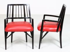 Paul L szl Set of Four Custom Designed Dining Chairs by Paul Laszlo - 1037286