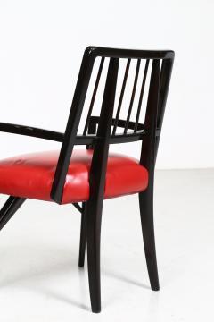 Paul L szl Set of Four Custom Designed Dining Chairs by Paul Laszlo - 1037288
