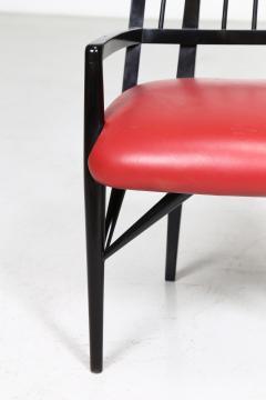 Paul L szl Set of Four Custom Designed Dining Chairs by Paul Laszlo - 1037293