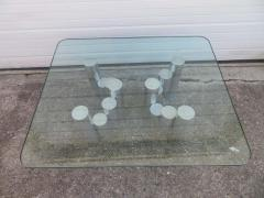 Paul Mayen Stunning Paul Mayen Habitat Aluminum Cylinder Coffee Table Mid Century Modern - 1550561