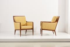 Paul McCobb Pair of Paul McCobb Lounge or Arm Chairs for Calvin USA 1950s - 2118231