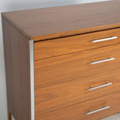 Paul McCobb Paul McCobb Pair of Bedside Chests In Walnut and Aluminum 1960s - 1923467
