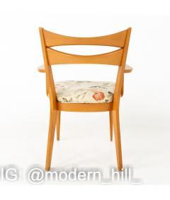 Paul McCobb Paul McCobb Style Heywood Wakefield Mid Century Bowtie Dining Chairs Set of 6 - 1810353