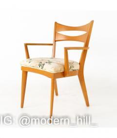 Paul McCobb Paul McCobb Style Heywood Wakefield Mid Century Bowtie Dining Chairs Set of 6 - 1810354