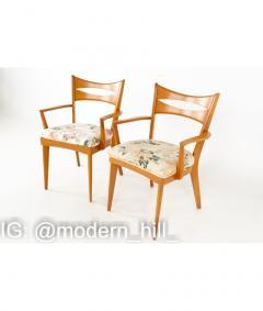 Paul McCobb Paul McCobb Style Heywood Wakefield Mid Century Bowtie Dining Chairs Set of 6 - 1810379
