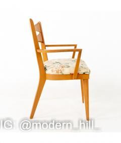 Paul McCobb Paul McCobb Style Heywood Wakefield Mid Century Bowtie Dining Chairs Set of 6 - 1810380