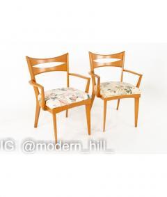 Paul McCobb Paul McCobb Style Heywood Wakefield Mid Century Bowtie Dining Chairs Set of 6 - 1810385