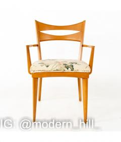 Paul McCobb Paul McCobb Style Heywood Wakefield Mid Century Bowtie Dining Chairs Set of 6 - 1810388