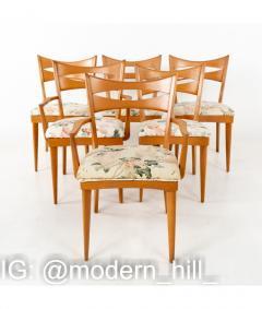 Paul McCobb Paul McCobb Style Heywood Wakefield Mid Century Bowtie Dining Chairs Set of 6 - 1810399