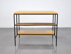Paul McCobb Paul McCobb Winchendon Iron Maple and Bamboo End Table - 1010435