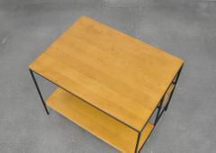 Paul McCobb Paul McCobb Winchendon Iron Maple and Bamboo End Table - 1010440