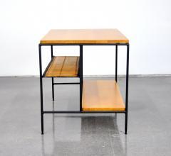 Paul McCobb Paul McCobb Winchendon Iron Maple and Bamboo End Table - 1010441