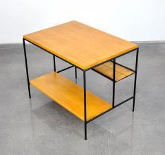 Paul McCobb Paul McCobb Winchendon Iron Maple and Bamboo End Table - 1010442