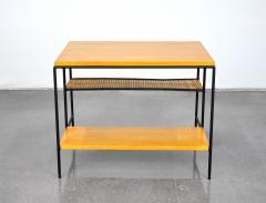 Paul McCobb Paul McCobb Winchendon Iron Maple and Bamboo End Table - 1010443