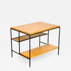 Paul McCobb Paul McCobb Winchendon Iron Maple and Bamboo End Table - 1011309
